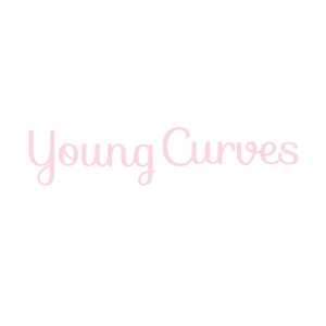 Normal young curve logo square with bg